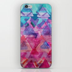 Overlapping Triangles 3 iPhone & iPod Skin