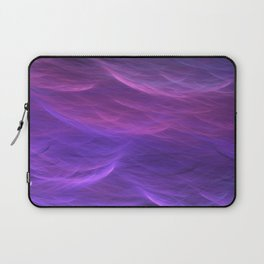 Pink and Purple Ultra Violet Soft Waves Laptop Sleeve