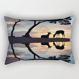 Nature reflection Rectangular Pillow