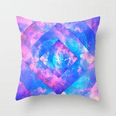 Diamond Galaxy Throw Pillow