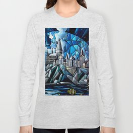 Stained Glass magic Long Sleeve T-shirt