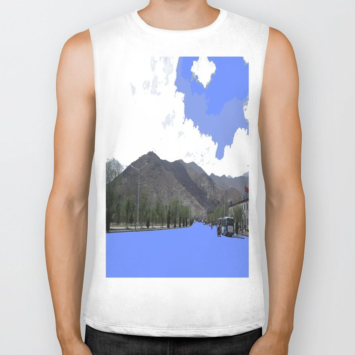 Lots Of Fresh Air Biker Tank