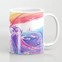 mlp Mugs featuring MLP by Cari Corene