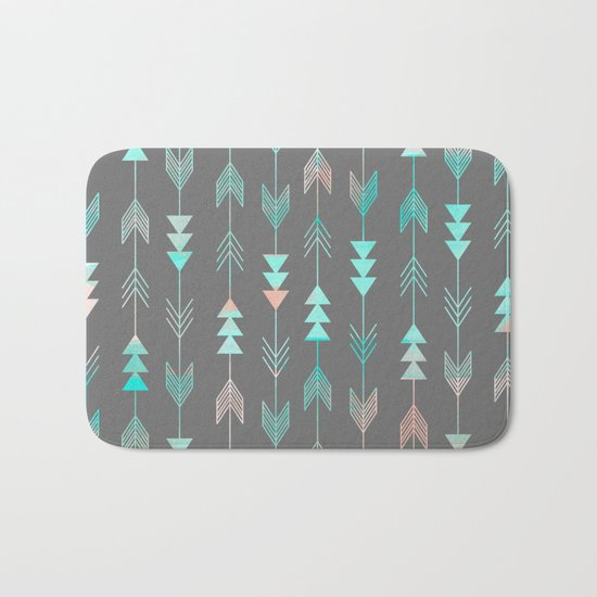 Aztec Arrows Bath Mat