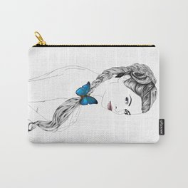 Butterfly Girl Carry-All Pouch
