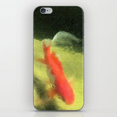 Life under the Ice (Watercolors version) iPhone & iPod Skin