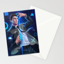 Detroit Become Human - Connor Stationery Cards