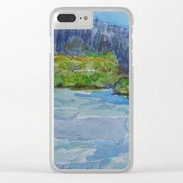 Williamson River, Ore. #4 Clear iPhone Case