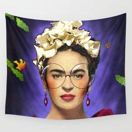 Filtered Frida Kahlo Wall Tapestry