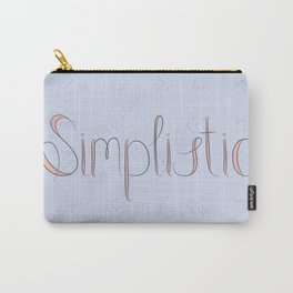 Simplistic Carry-All Pouch