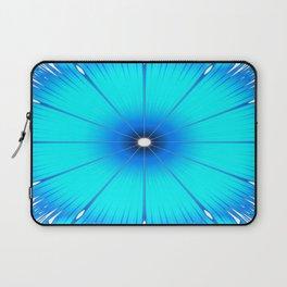 TURQUOISE Flower Laptop Sleeve