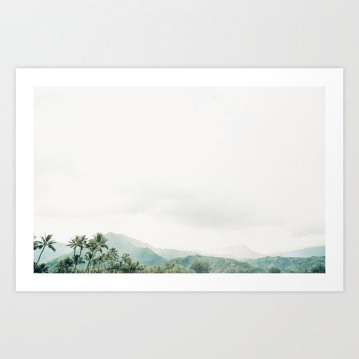 Hanalei Fog Kunstdrucke