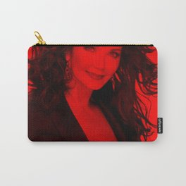 Lynda Carter - Celebrity (Photographic Art) Carry-All Pouch