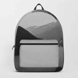 Lake (Black and White) Backpack