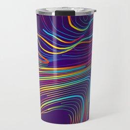 Streaks of Light Travel Mug