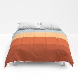 Sunrise Fade Red Comforters