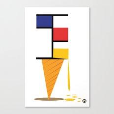 Ice-cream museum Canvas Print