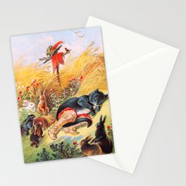 Carl Offterdinger - Puss In Boots - Digital Remastered Edition Stationery Cards