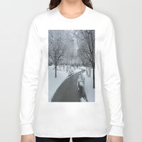 pittsburgh Long Sleeve T-shirts featuring PITTSBURGH PARK by Stephanie Bosworth