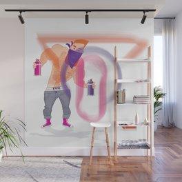 Ivo Graffiti Wall Mural