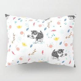 Kitten Chases Everything Pillow Sham