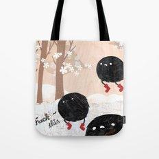 Mr. Furry Pants Tote Bag