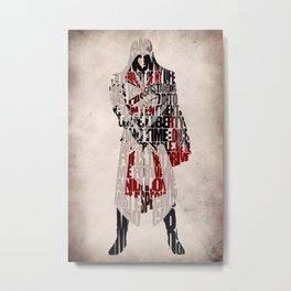 Ezio - Assassin's Creed Brotherhood Metal Print