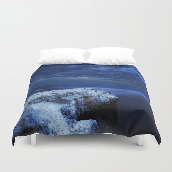 Blue water Duvet Cover