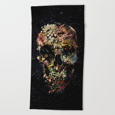 Smyrna Skull Beach Towel