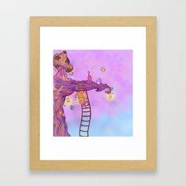 The Star keeper Framed Art Print