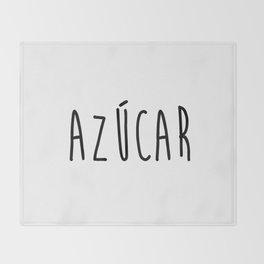 Azucar Throw Blanket