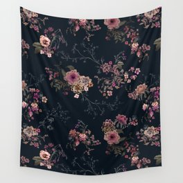 Japanese Boho Floral Wall Tapestry