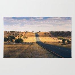 Road in Africa Rug