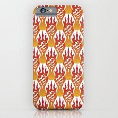 SCORCH pattern [WHITE] iPhone 6s Slim Case