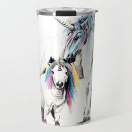 Sometimes we all need to believe in unicorns Travel Mug