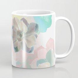 Succulent Pattern Coffee Mug