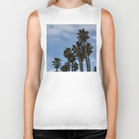 palms Biker Tanks featuring Palms by americanmom