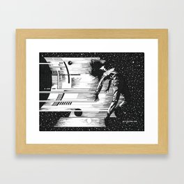 Just Give Me Some Space - Framed Art Print