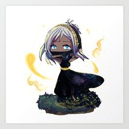 Chibi Denna Art Print