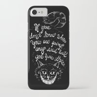 cheshire cat iPhone & iPod Cases featuring Cheshire Cat by Kellabell9