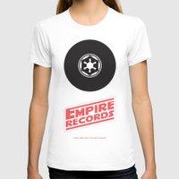 records T-shirts featuring Empire Records by mattranzetta