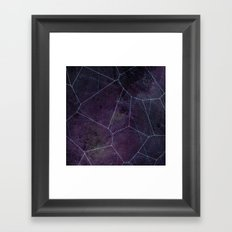 voronoi Framed Art Print
