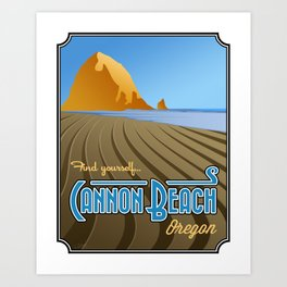 Landmarks of Life: Cannon Beach Art Print