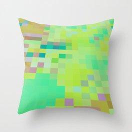PixelJungle Throw Pillow