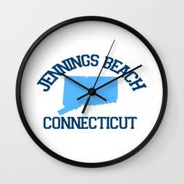 Jennings Beach Ct. Wall Clock