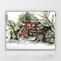 Yoshida Jinja Laptop & iPad Skin