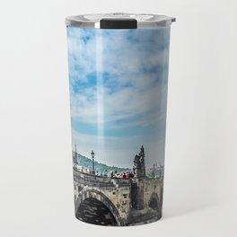 Prague charles bridge Travel Mug