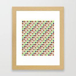 Berry mix Framed Art Print