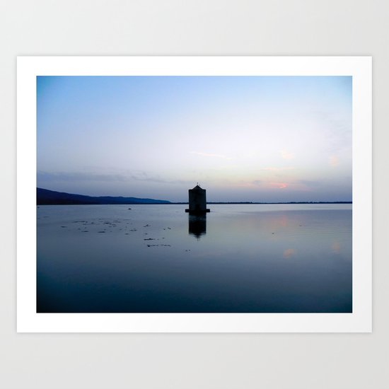 Orbetello Art Print