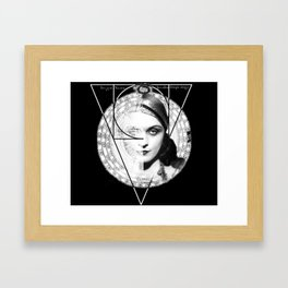 Homuncula: Pola Negri dark Framed Art Print